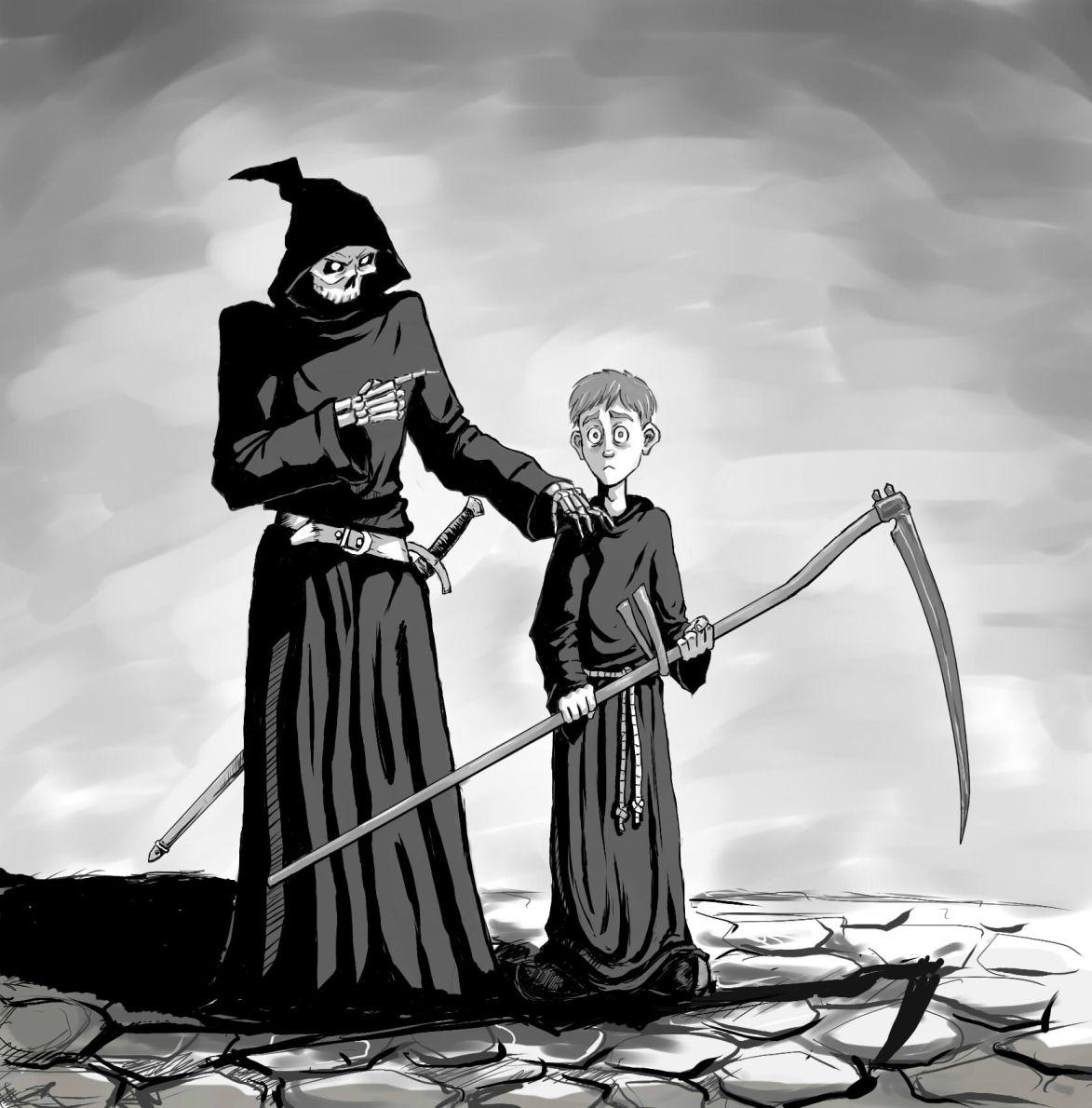 [Пратчетт Терри] Мор, ученик смерти