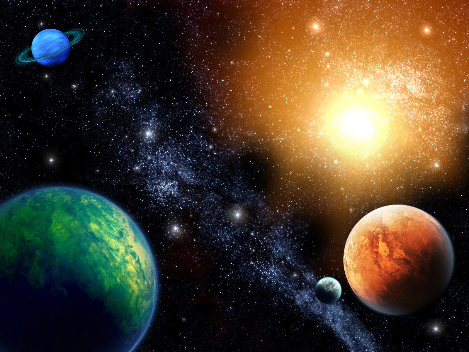 universe solar system images - HD1600×1200
